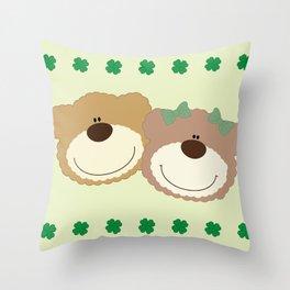 WE♥BEARS Throw Pillow