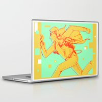 runner Laptop & iPad Skins featuring Runner by gallerydod