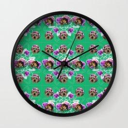Doggo Garden Wall Clock