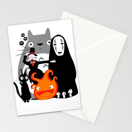 Ghibli'd Away Stationery Cards