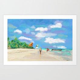 Dominicana Art Print