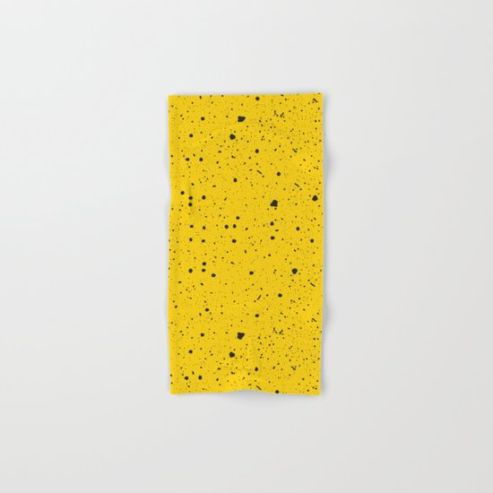 Speckled Yellow Hand & Bath Towel