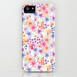 Watercolour Floral iPhone Case