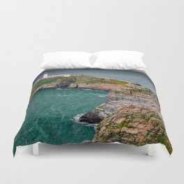 South Stack Lighthouse Duvet Cover