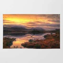 Golden Sunrise Over Loch Ba Rug