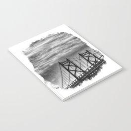 Iowa-Illinois Memorial Bridge - Close Up Notebook