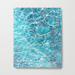 The Pool Metal Print