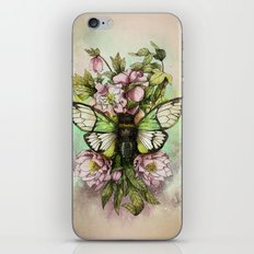 Cicada [The last summer chant]] iPhone & iPod Skin