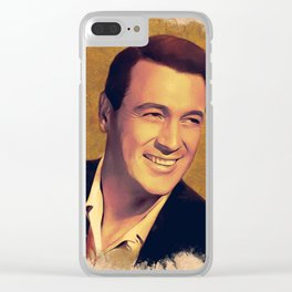 Rock Hudson, Hollywood Legend Clear iPhone Case