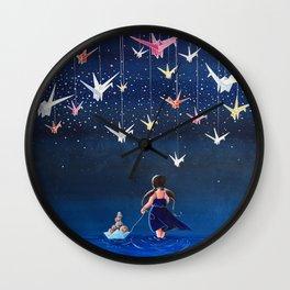 Origami Dream Wall Clock