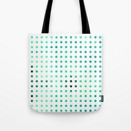 Polka Dot-Green Tote Bag