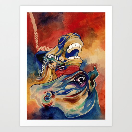 carnival II Art Print