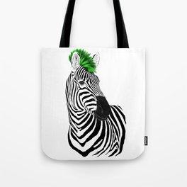Zeb Punk Tote Bag