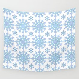 Snowflake Medallion Pattern 1 Wall Tapestry