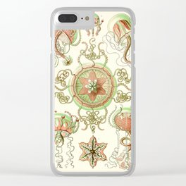 Haeckel jelly fish vintage Clear iPhone Case