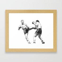 """Ramon """"The Diamond"""" Dekkers Framed Art Print"""