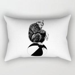 Chimp Rectangular Pillow