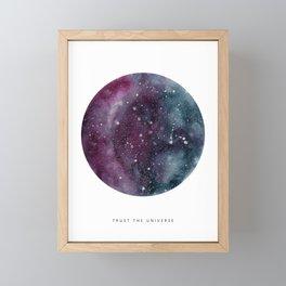 Trust the Universe Framed Mini Art Print