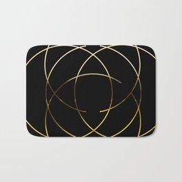 Modern Minimalist Design Badematte