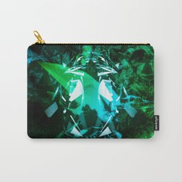 Broken Gradient Carry-All Pouch