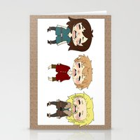 kili Stationery Cards featuring kili cry by Selis Starlight