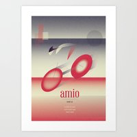 cycling Art Prints featuring Cycling by marcus marritt