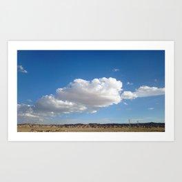 cloud photography Art Print
