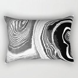black marble (1) Rectangular Pillow