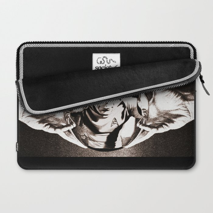 Escher Inspired Spock (Star Trek) Laptop Sleeve