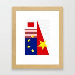 Flag1 Framed Art Print