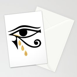 ALL SEEING CRY - Eye of Horus Stationery Cards