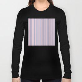 Pantone Rose Quartz over Serenity Long Sleeve T-shirt