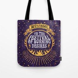Daughter of the Burning City - Amanda Foody - Purple Tote Bag