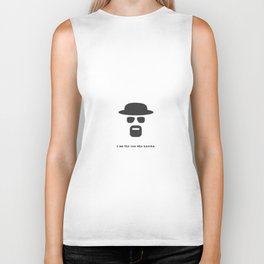 I am the one who knocks. Biker Tank