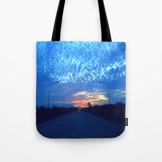 On The Road Tote Bag