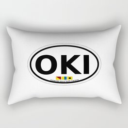 Ocracoke Island - North Carolina. Rectangular Pillow