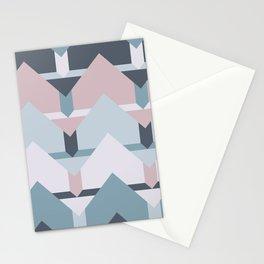 Scandi Waves #society6 #scandi #pattern Stationery Cards
