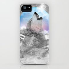 Maybe the Wolf Is In Love with the Moon iPhone (5, 5s) Slim Case