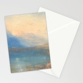 The Lake of Zug by Joseph Mallord William Turner 1843, British Stationery Cards