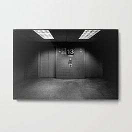 13th Floor Metal Print