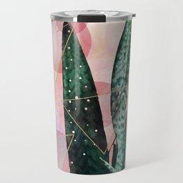 Plant circles & triangles Travel Mug