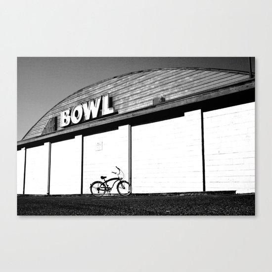 Let's Bowl Canvas Print