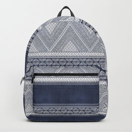 Dutch Wax Tribal Print Backpack