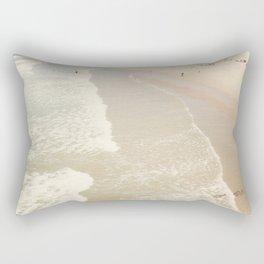 Aerial Hermosa Beach Rectangular Pillow