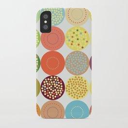 Circle pattern iPhone Case