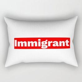Immigrant Rectangular Pillow