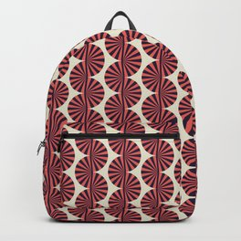 Colored Fifties Pattern 07 Backpack