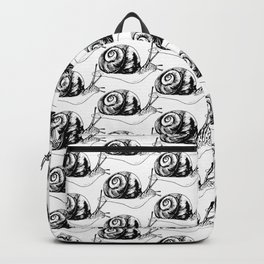 Snails Drawing/Pattern Backpack