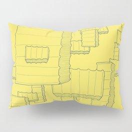 Fry Pattern - maize Pillow Sham