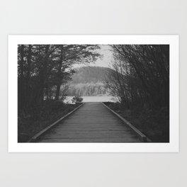 To The Lake Art Print